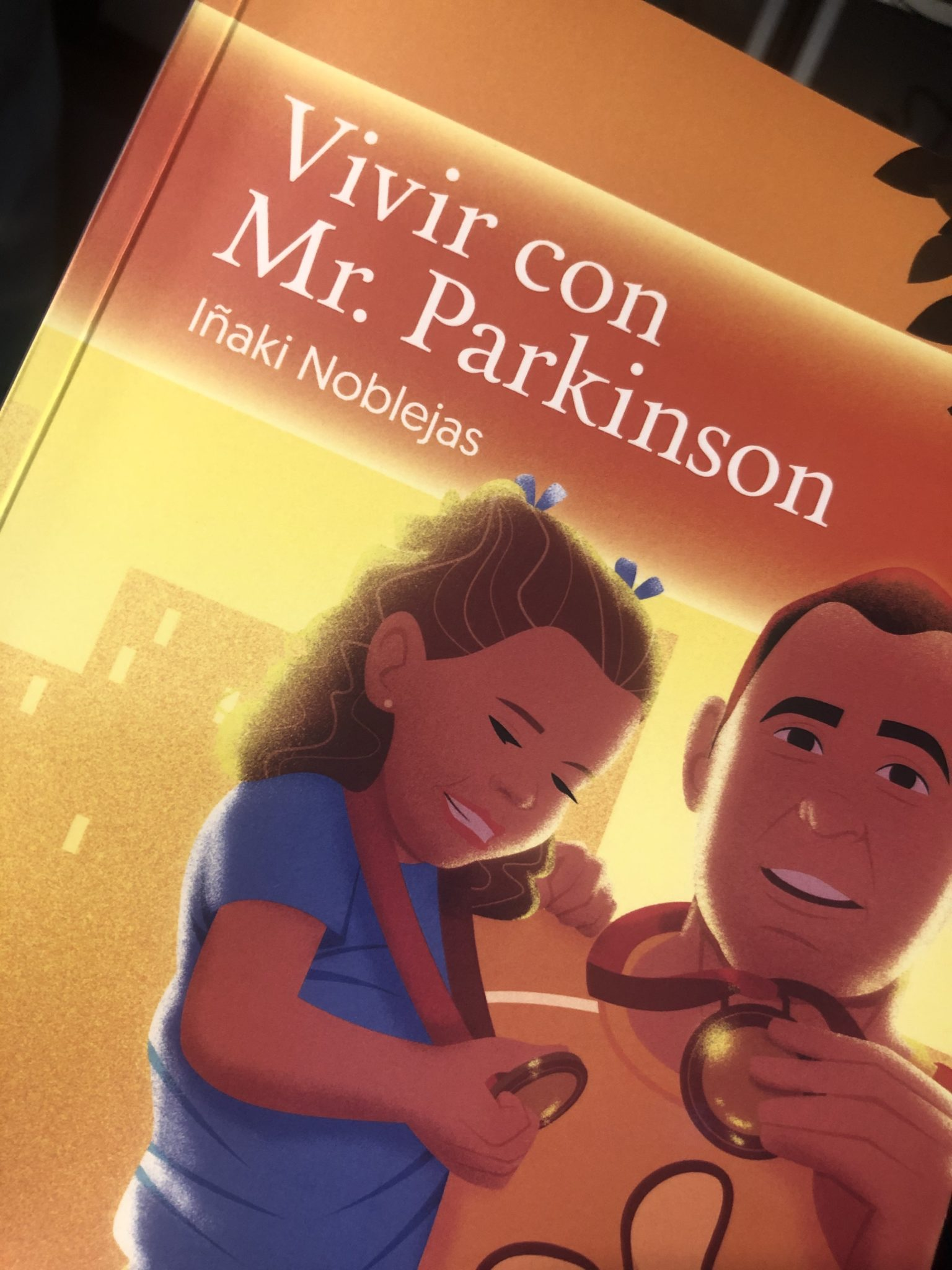 Libro Vivir con Parkinson