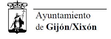 Logotipo Ayto Gijón monocromo